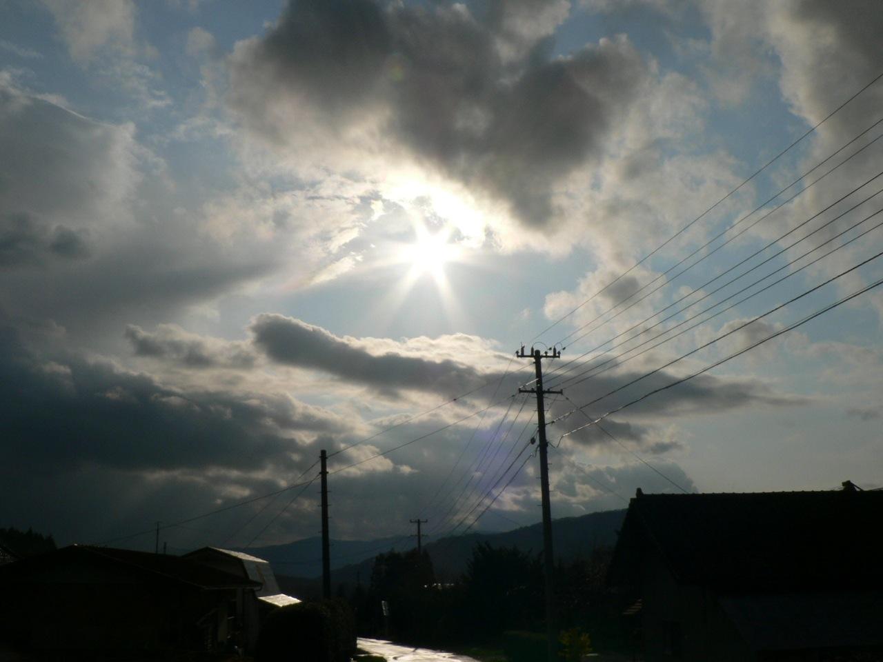 めまぐるしく変わる空模様を追ってみた_d0001843_1937587.jpg