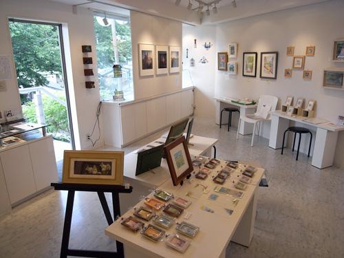 『第3回 横浜山手の坂道と風景展』 2日目 Art Gallery 山手 2009年_f0117059_20205228.jpg