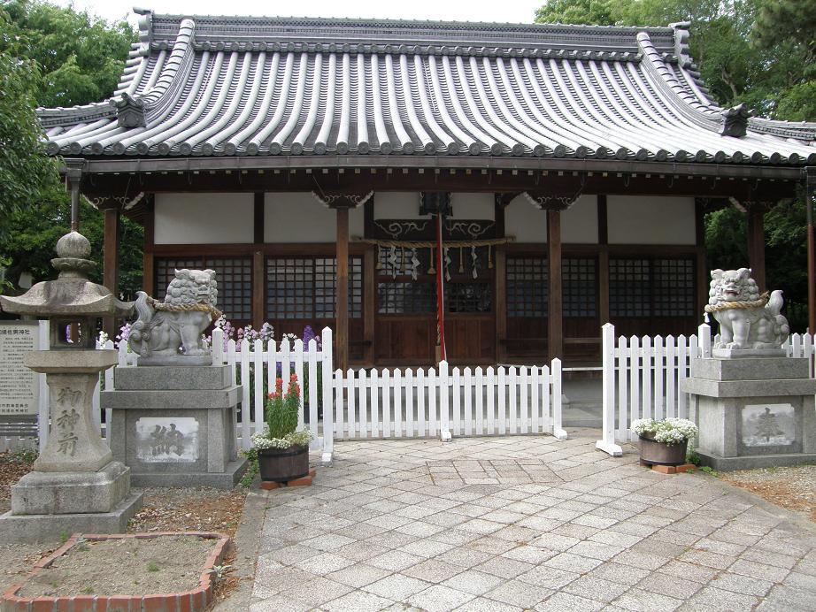 神社を訊ねて その7 近松ぶらり歩き    JR塚口駅_c0118393_10253792.jpg