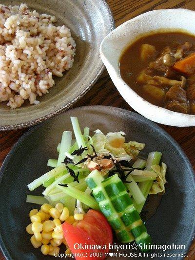 野菜をたくさん食べよう~(^0^)/ ☆休日カレーの日♪_c0139375_14284820.jpg