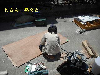 ウッドデッキ改修工事7日目_f0031037_2131350.jpg