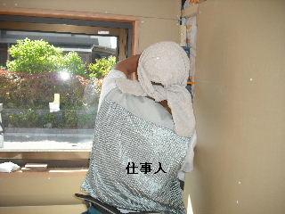ウッドデッキ改修工事7日目_f0031037_21411161.jpg