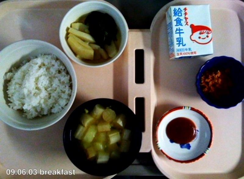 ●入院6日目 病院食とおぼんのなぞ_a0033733_1945533.jpg