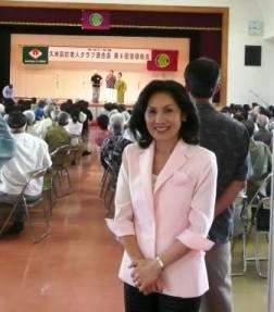 久米島老人クラブ連合会総会に参加_f0150886_16373091.jpg