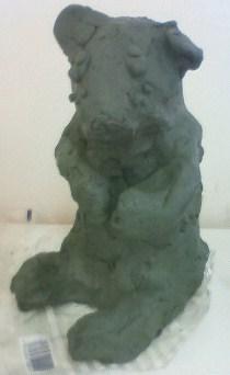 作品展 彫塑_b0187423_16375763.jpg