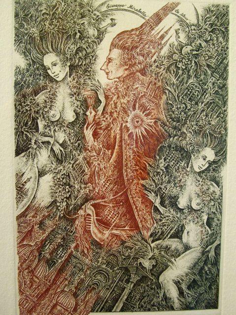 990) af 「紙の世界・05 『エクスリブリス』(18~20世紀)」 5月26日(火)~6月20日(土)_f0126829_21424411.jpg