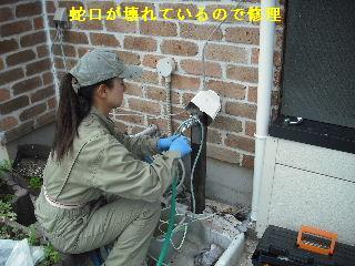 ウッドデッキ改修工事9日目_f0031037_2231754.jpg