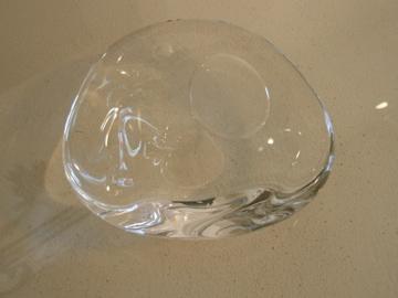 吹きガラスの花器_b0132442_1712749.jpg