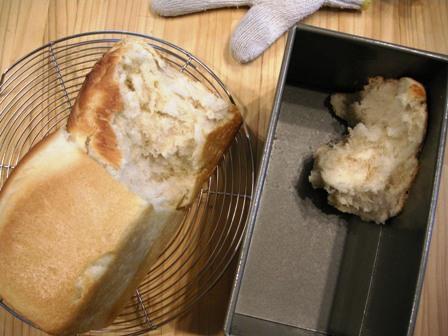 食パンもげました・・・_e0167593_058743.jpg