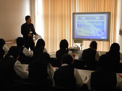 富士北稜高校のみなさんがご来社されました_c0193896_0194424.jpg