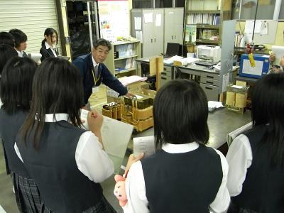 富士北稜高校のみなさんがご来社されました_c0193896_0275861.jpg