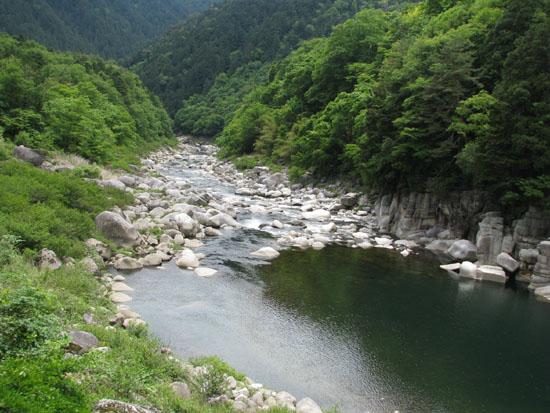 木曽路を歩く 2.寝覚ノ床_e0048413_2113358.jpg
