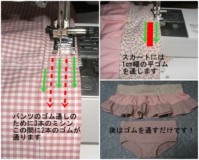 子供のギャザースカートとパンツをつくろう_a0084343_23462132.jpg