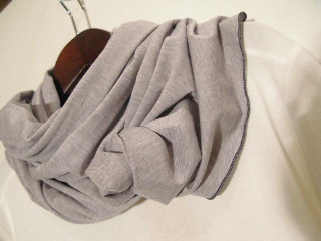 『Cut&Sew Made Cotton Long Stole』_e0142928_19454771.jpg