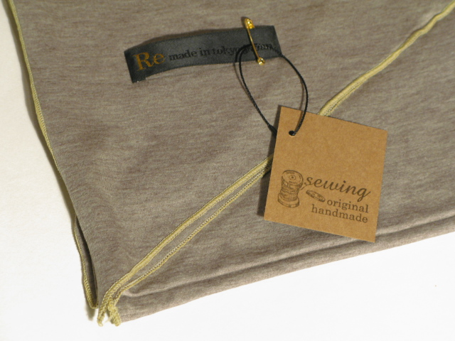 『Cut&Sew Made Cotton Long Stole』_e0142928_19582028.jpg