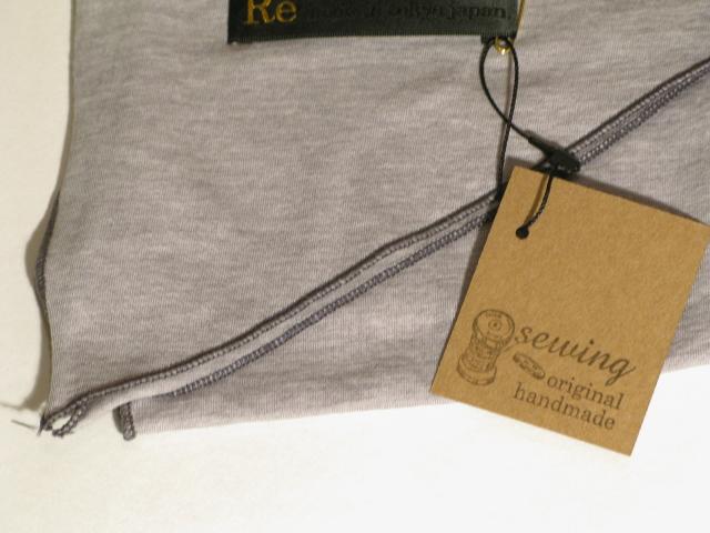 『Cut&Sew Made Cotton Long Stole』_e0142928_19591394.jpg