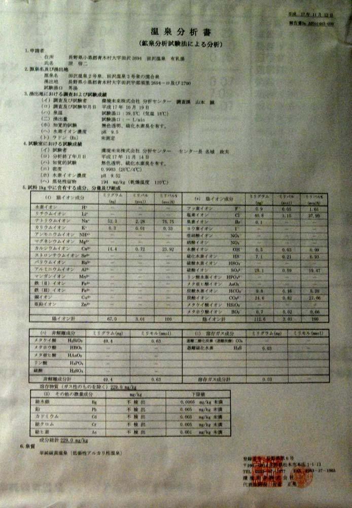 田沢温泉・温泉センター共同浴場「有乳湯」(源泉:田沢温泉2号・3号)_c0043361_23121780.jpg