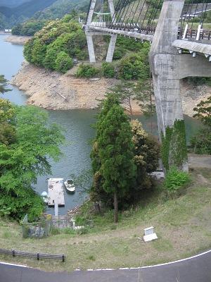 """HAKUDOU検地(その5)・・・""""唄げんか大橋""""と""""北川ダム""""_c0001578_22472224.jpg"""