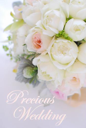 6月はバラの季節 大人気*ブルゴーニュのウェディングブーケ_a0115684_1016817.jpg