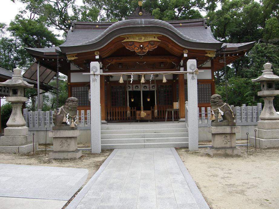 神社を訊ねて その10  伊居太神社  尼崎_c0118393_15103880.jpg