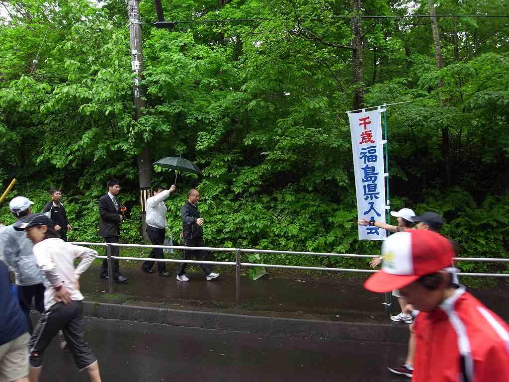 雨中の第29回千歳JAL国際マラソン大会_f0138096_11352688.jpg