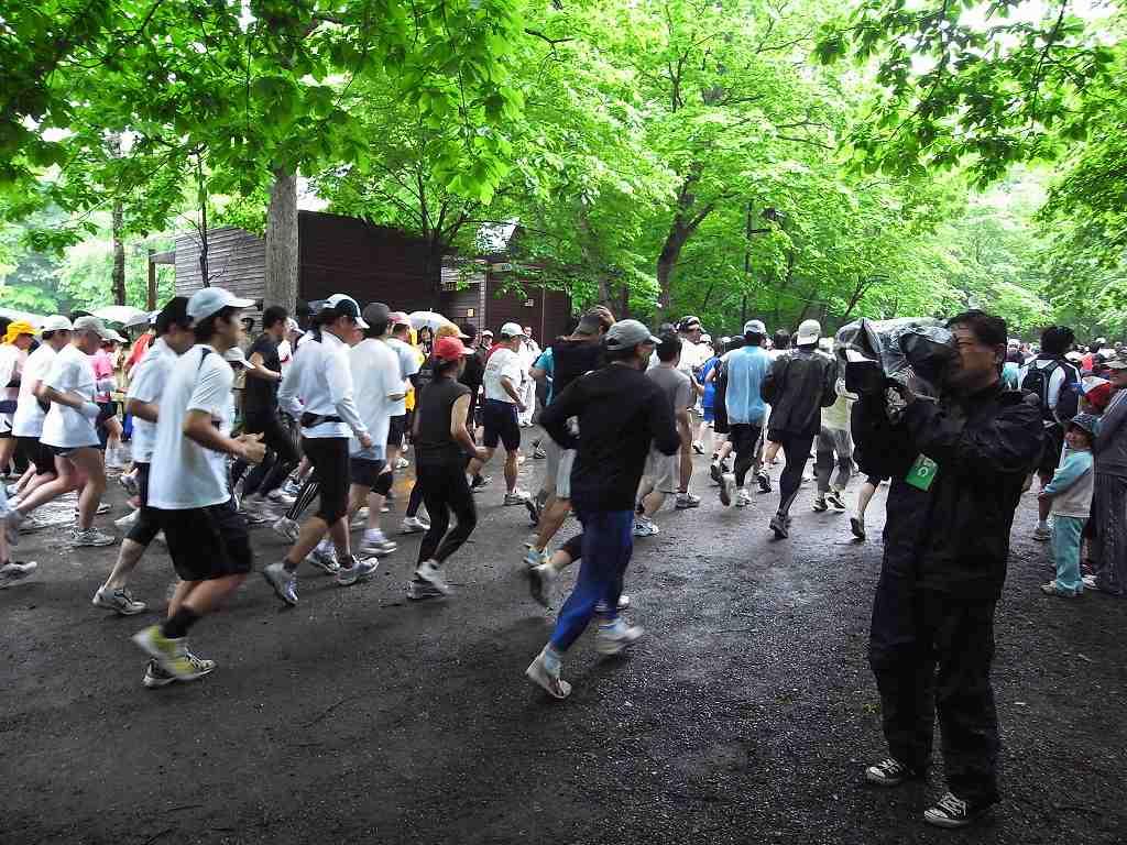 雨中の第29回千歳JAL国際マラソン大会_f0138096_11361117.jpg
