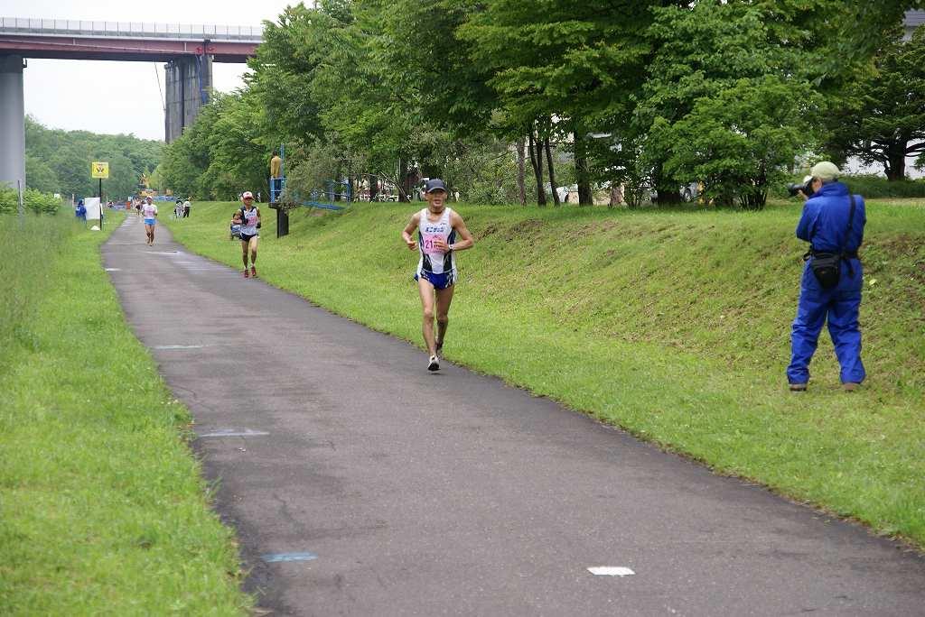 雨中の第29回千歳JAL国際マラソン大会_f0138096_15501725.jpg