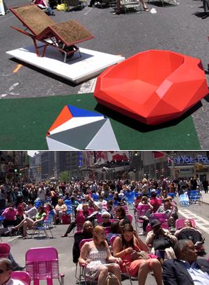 変わらないために、変わり続ける Traffic-Free Broadway in Times Square_b0007805_1024185.jpg