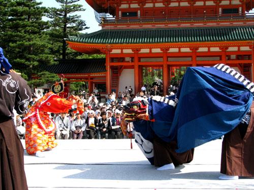 平安神宮ー京の祭り舞台_e0048413_22514167.jpg
