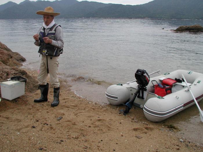 宮島の西側の海で釣り_c0116915_18424838.jpg
