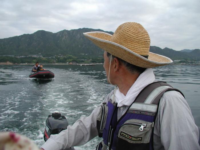 宮島の西側の海で釣り_c0116915_1843438.jpg