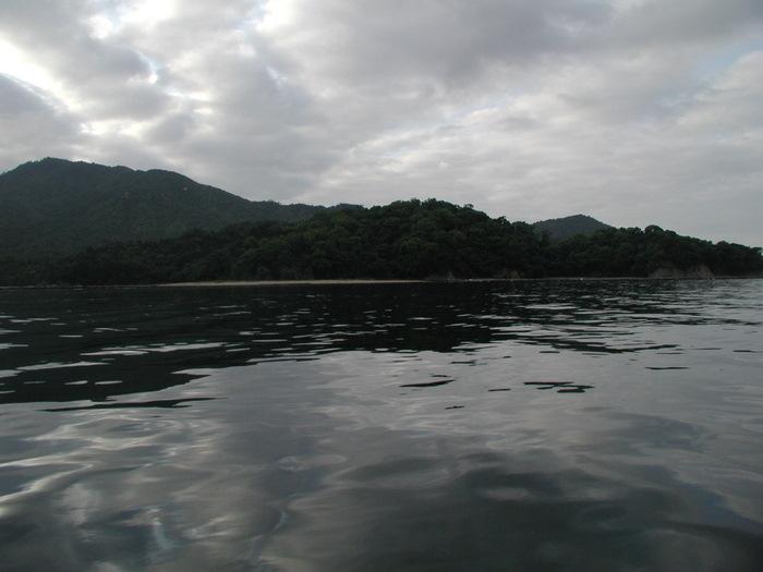 宮島の西側の海で釣り_c0116915_1845794.jpg