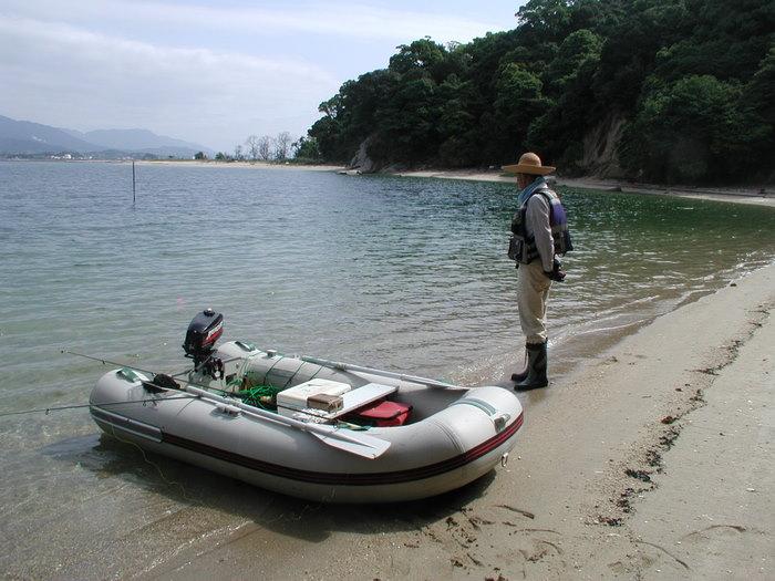 宮島の西側の海で釣り_c0116915_1851314.jpg
