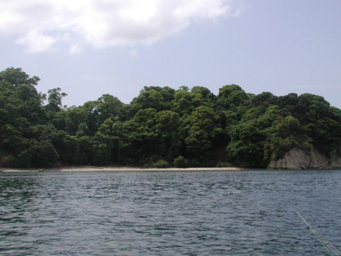 宮島の西側の海で釣り_c0116915_1858136.jpg