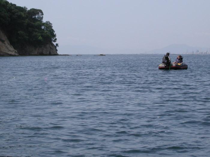 宮島の西側の海で釣り_c0116915_18583675.jpg