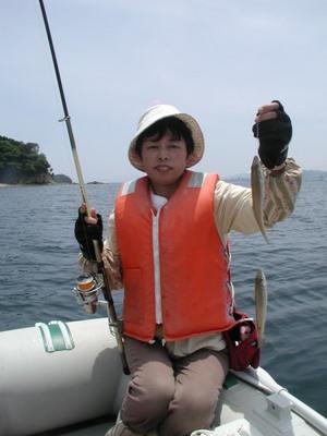 宮島の西側の海で釣り_c0116915_190398.jpg
