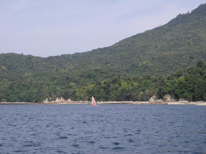 宮島の西側の海で釣り_c0116915_2250233.jpg