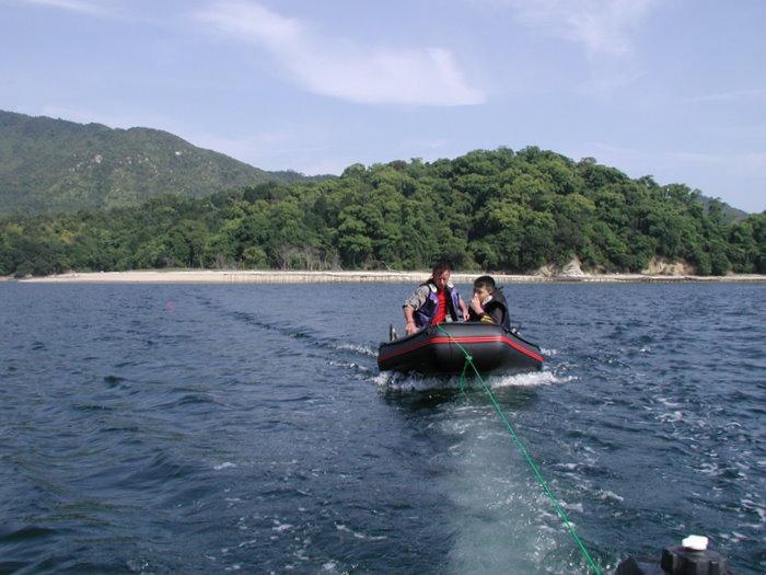 宮島の西側の海で釣り_c0116915_22511622.jpg