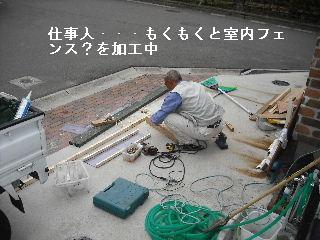 ウッドデッキ改修工事12日目 片付けとサプライズ_f0031037_2213698.jpg
