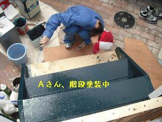 ウッドデッキ改修工事12日目 片付けとサプライズ_f0031037_2214820.jpg