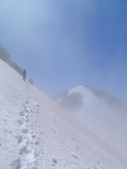 針ノ木岳登山-頂へ_c0177814_10112258.jpg