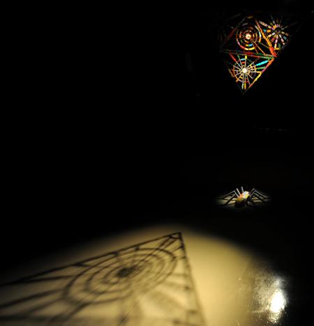 名古屋総合デザイン専門学校の卒業生のほりおわかなさんの作品展が開催中です。_b0110019_16371545.jpg
