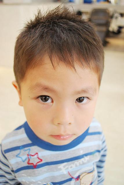 可愛い子供の髪型<男の子編>