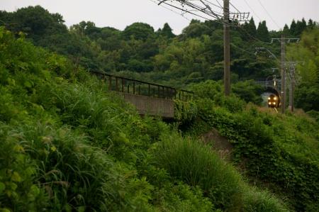 名鉄 パノラマカーのいる風景 ~緑の中を~_c0185241_1153657.jpg