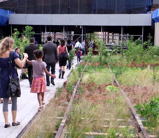ニューヨークに空中公園ハイラインがついにオープン! The High Line_b0007805_11252040.jpg