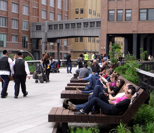 ニューヨークに空中公園ハイラインがついにオープン! The High Line_b0007805_11492659.jpg