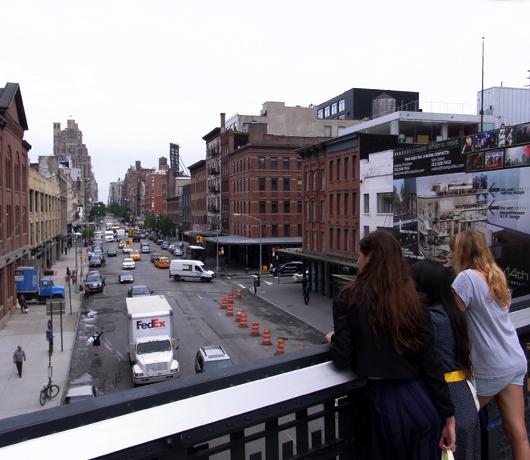 ニューヨークに空中公園ハイラインがついにオープン! The High Line_b0007805_1149345.jpg