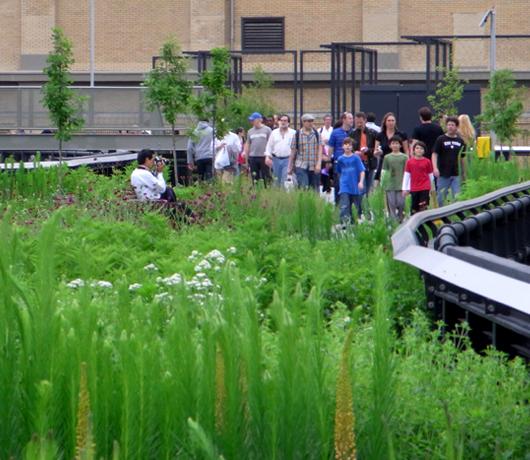 ニューヨークに空中公園ハイラインがついにオープン! The High Line_b0007805_11495562.jpg