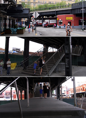 ニューヨークに空中公園ハイラインがついにオープン! The High Line_b0007805_12392724.jpg