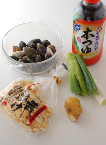 漢の料理 12回目・深川めし(あさり丼)_a0003650_102469.jpg